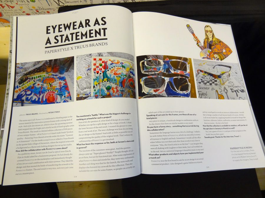 "Eyewear the visionary magazine- Opti Munchen-""Eyewear as a statemant"""
