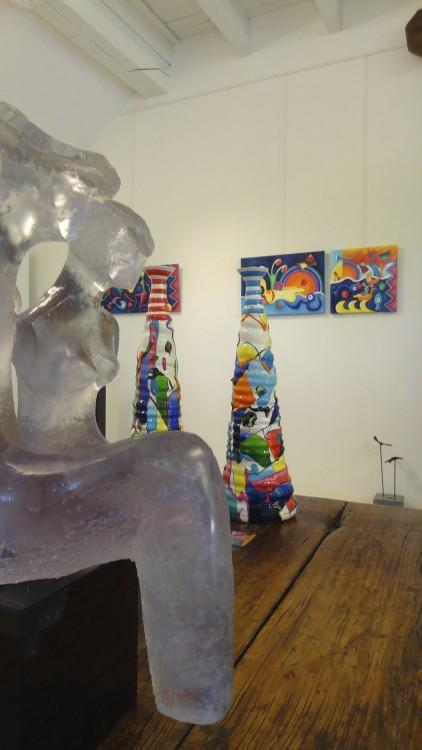 Kunst kiezel & klei route 2012